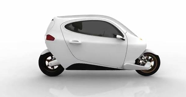 Идеальный электро мотоцикл C1